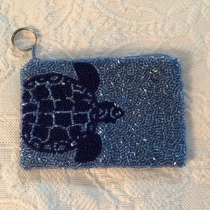 Bedazzled ID/coin purse NWOT